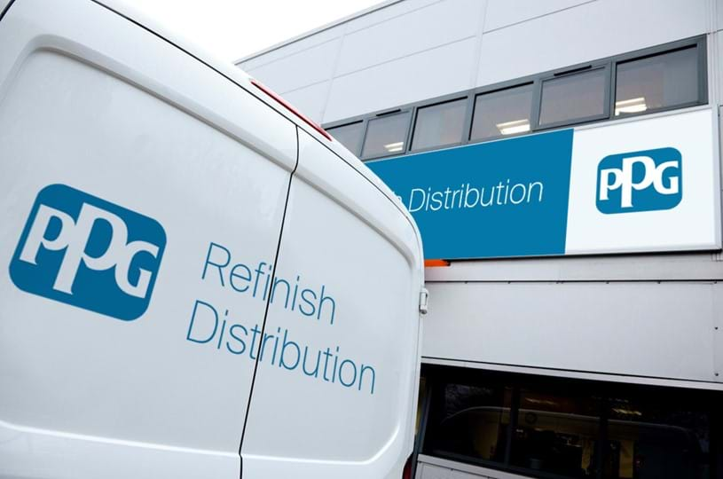 Artist's impression of the new PPG Refinish Distribution, work has begun on the first of 11 nationwide branches.