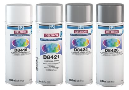 PPG launches D8416 DELTRON® 1k Primer Aerosol White G1 ...